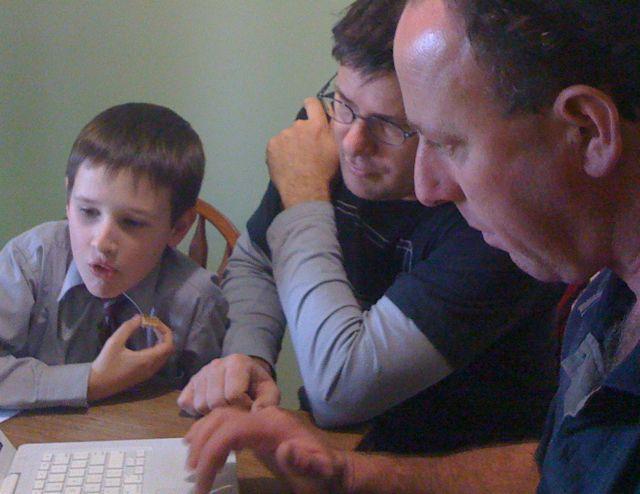 Ethan, Lyndon & David