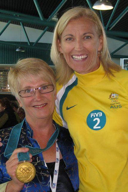Mary Brell & Kerri Pottharst