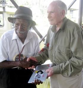 Francis Akati Simeni with Bede Tongs