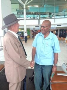 Garnet Tobin and Amos Misirait