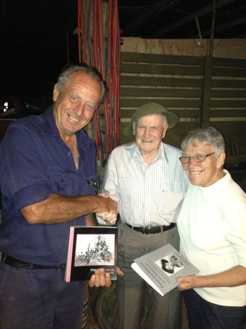 Bede with Bill and Janet Cheal