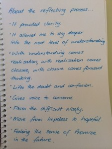 A retreat guest's reflections