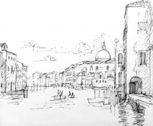 Connecting in Venice, by David Hooper for Do Talk To Strangers