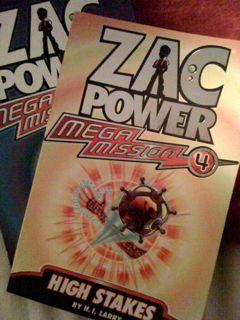 Zac Power Books