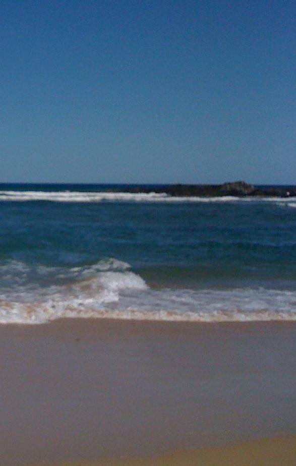Beach at Sawtell