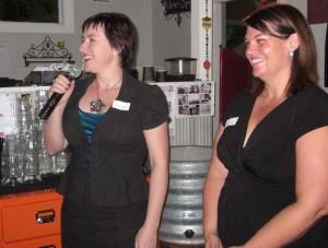 Kerrie Phipps and Melanie Pollock