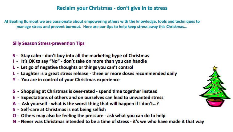Reclaim Your Christmas, by Beating Burnout's Robyn McNeill