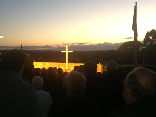 Dawn service 2013 Padstow