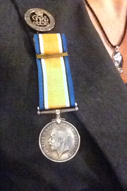 My Great-Grandfather's WW1 Medal