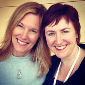 Anakha Coman and Kerrie Phipps at Mindful Leadership Forum