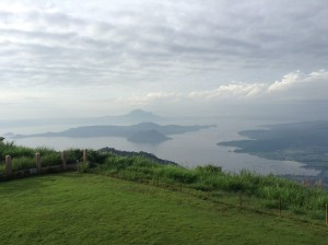 A view of Tagaytay's beautiful volcano lake on a clearer day. Photo supplied by John Prado